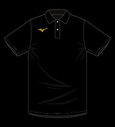 MIZUNO ポロシャツ(綿混)