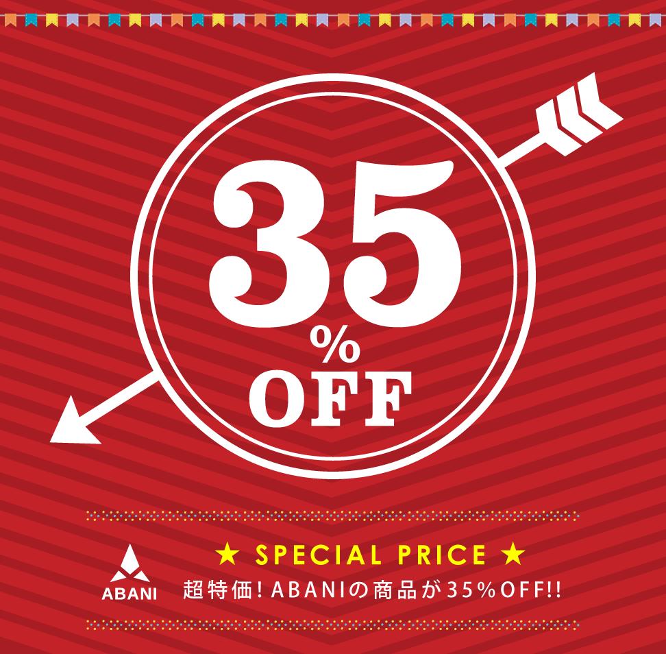 ABANI35%OFF