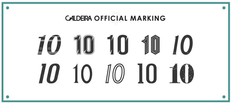 CALDEIRA OFFICIAL MARKING