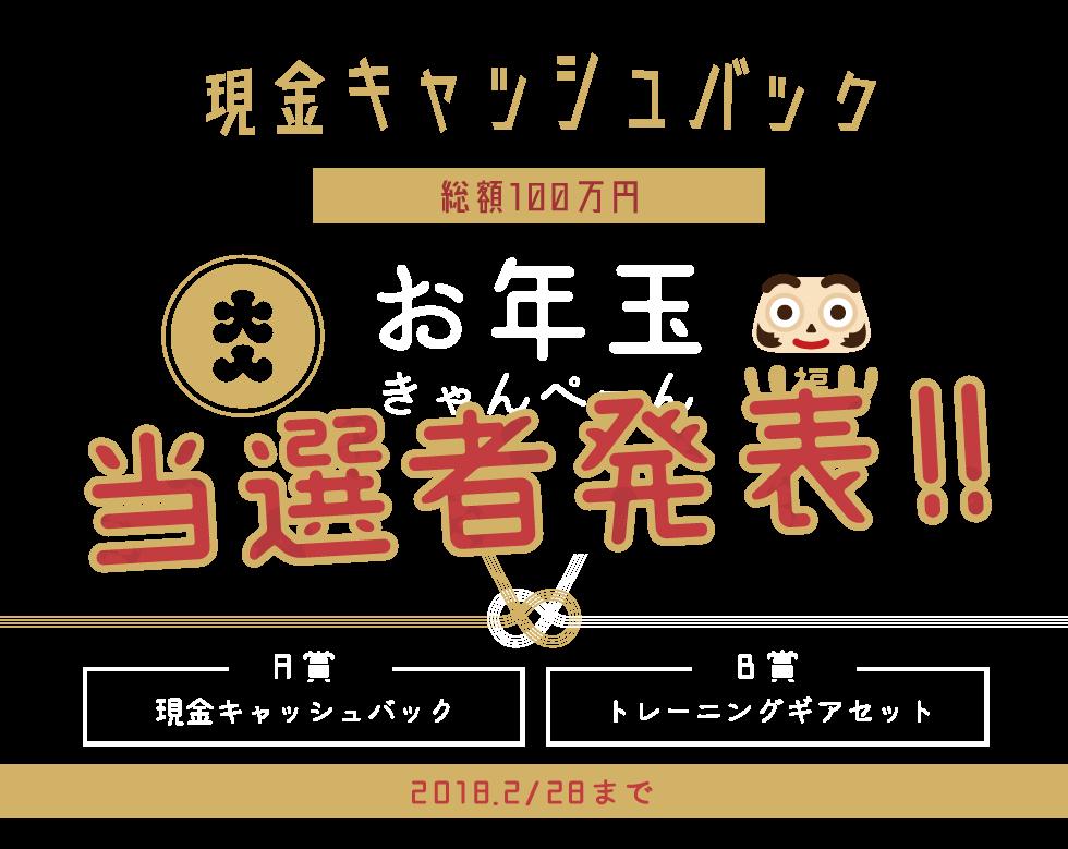 お年玉キャンペーン トップ画像 PC