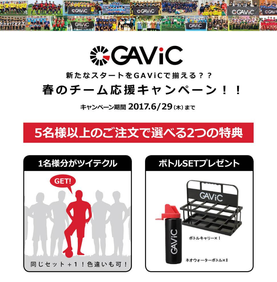 GAVIC 春のチーム応援キャンペーン