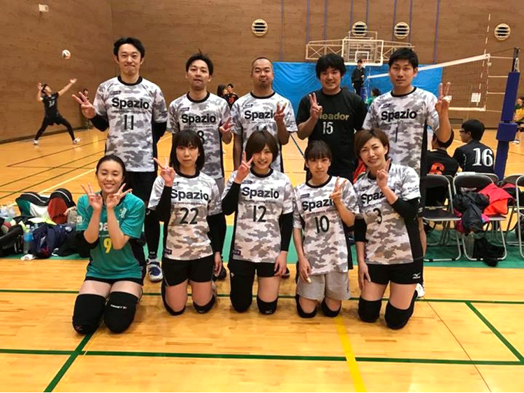 バレーボール VOLLEYBALL axe