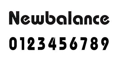 new balance フォント 3