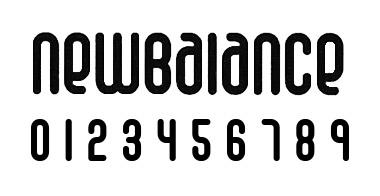 new balance フォント 6