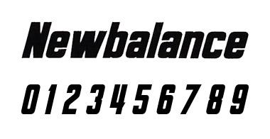 new balance フォント 7