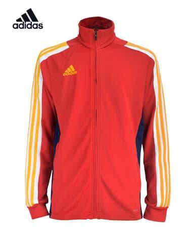 アディダス MITEAM18 トレーニングジャケット