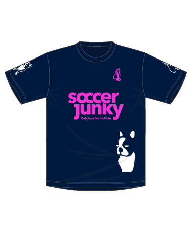 soccerjunky PANDIANI ゲームシャツ